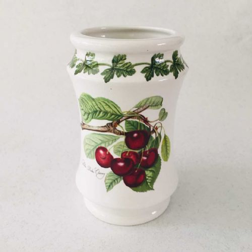 Portmeirion Pomona - Vase - The Late Duke Cherry